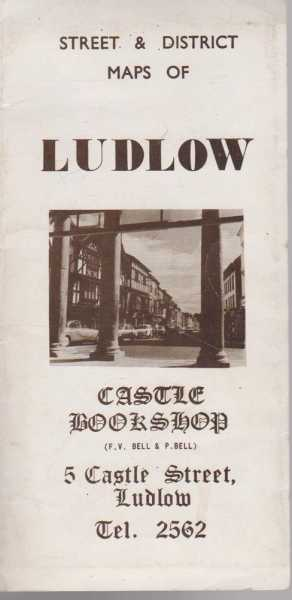 Image for Street & District Maps Of Ludlow