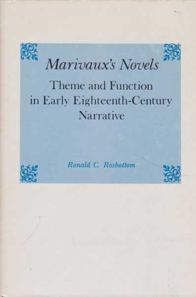Image for Marivaux's Novels: Theme and Function in Early Eighteenth-Century Narrative