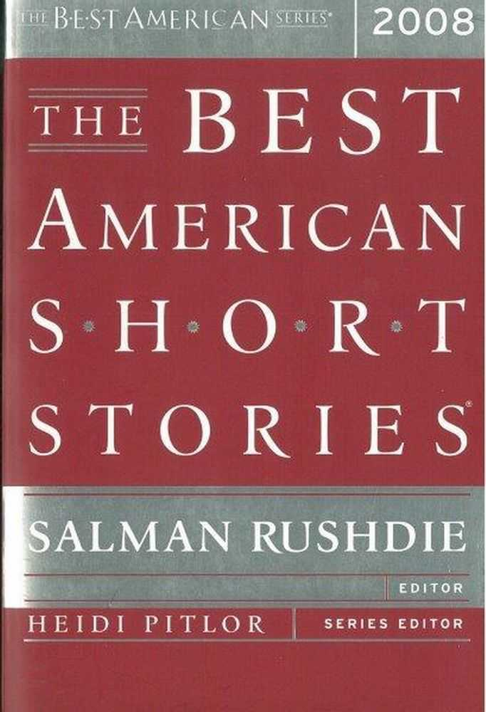Image for The Best American Short Stories 2008