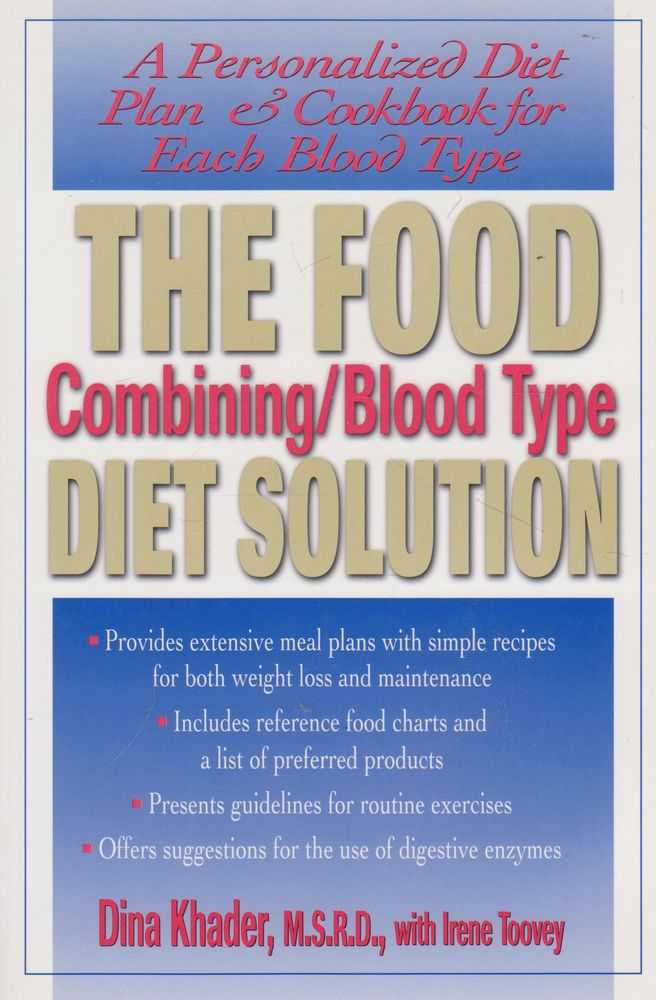 Image for The Food Combing/Blood Type Diet Solution