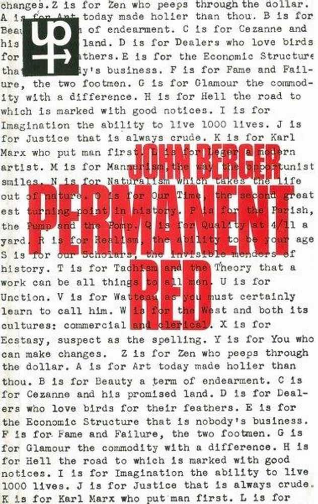 Image for Permanent Red - Essays in Seeing