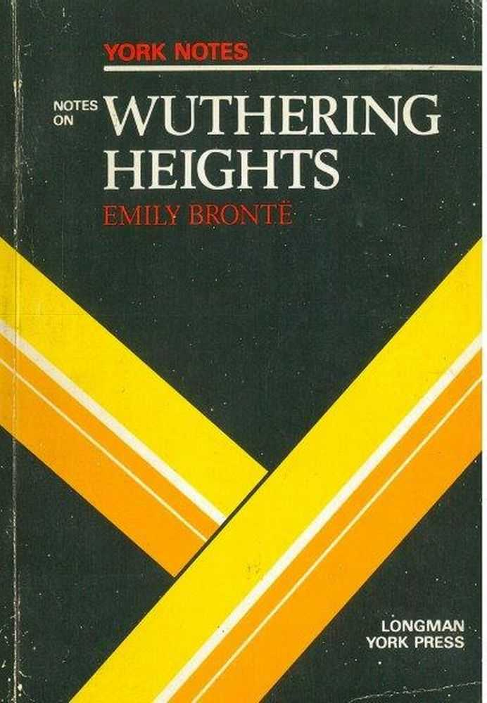 Image for York Notes on Emily Bronte's Wuthering Heights