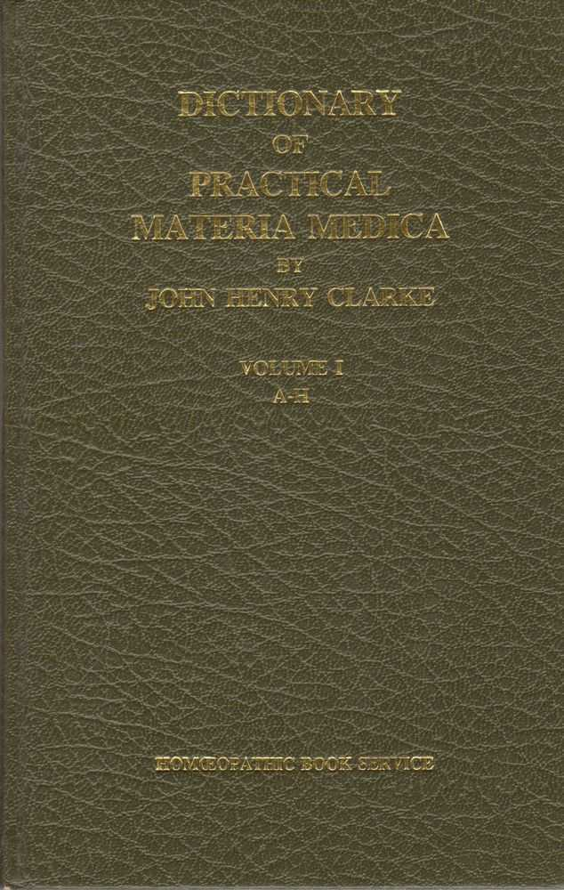 Image for Dictionary of Practical Materia Medica 3 Volume Set