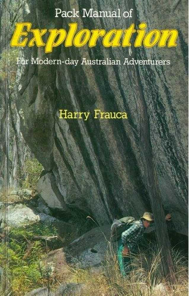 Image for Pack Manual of Exploration For Modern-day Australian Adventurers