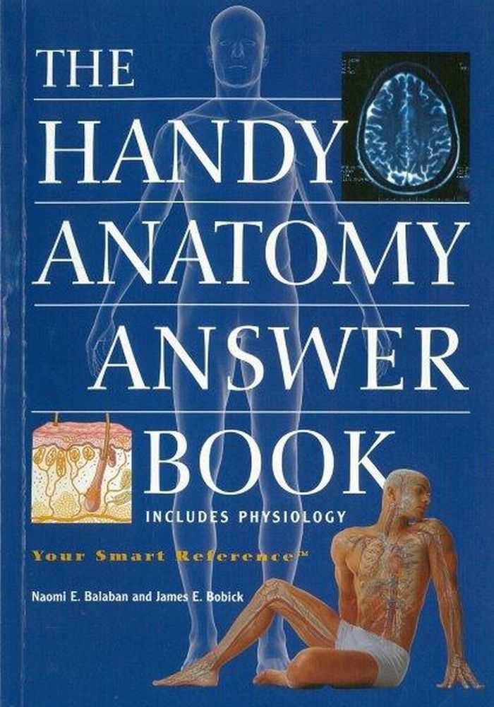 Image for The Handy Anatomy Answer Book [Includes Physiology]