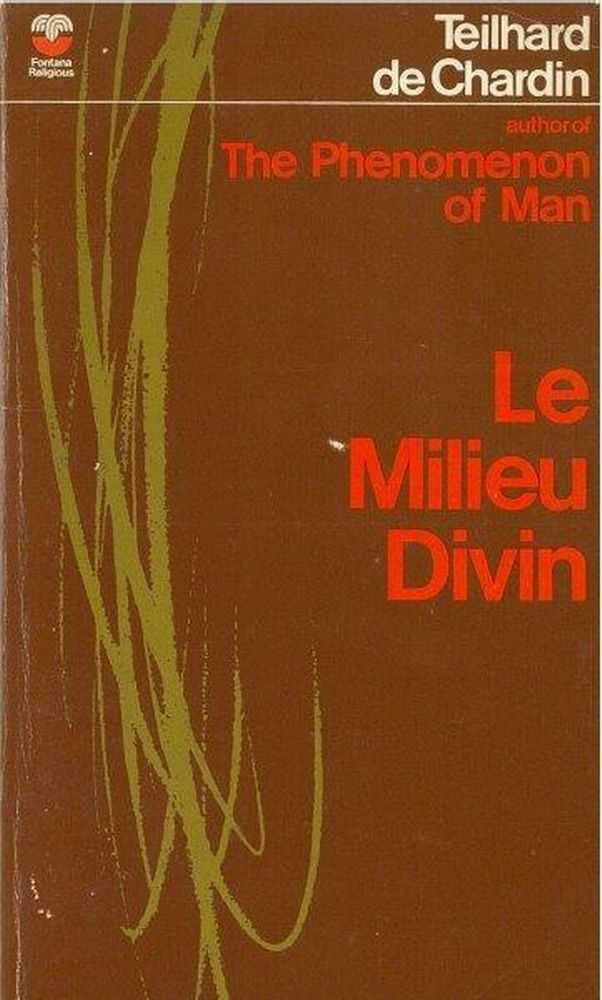 Image for Le Milieu: An Essay on the Interior Life