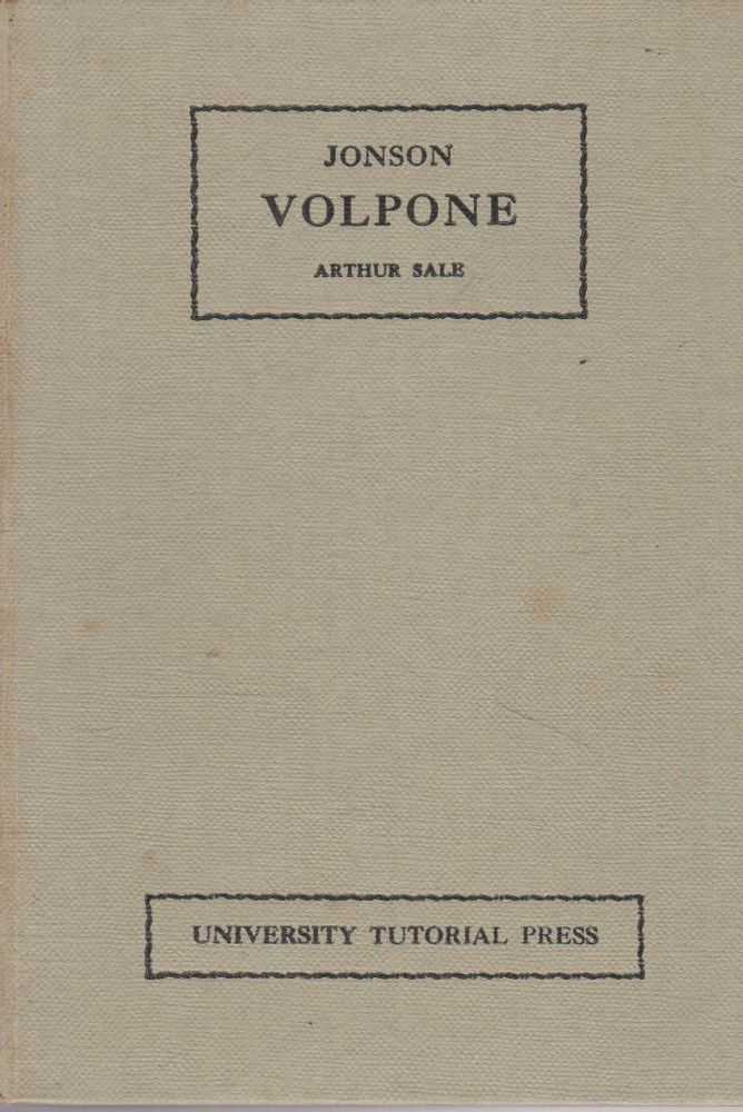 Image for Volpone or The Foxe