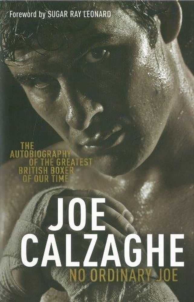 Image for Joe Calzaghe - No Ordinary Joe: The Autobiography of the Greatest British Boxer of Our Time