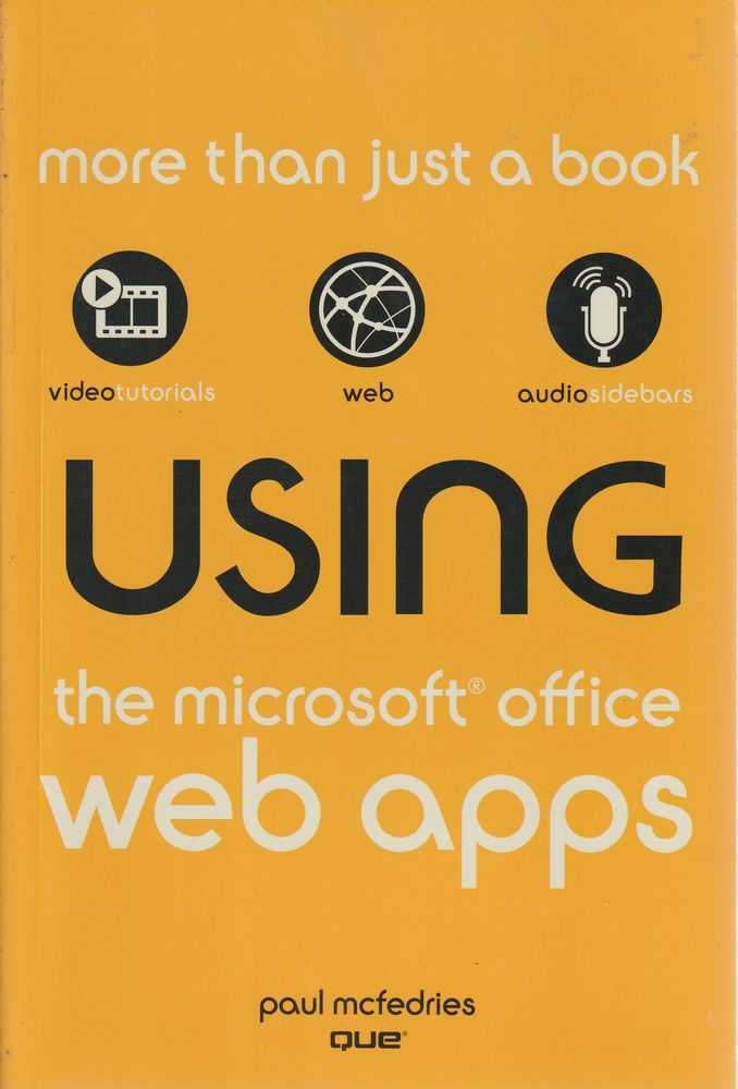 Image for Using The Microsoft Office Web Apps