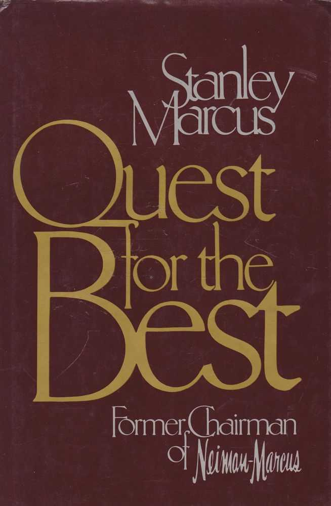 Image for Quest for the Best