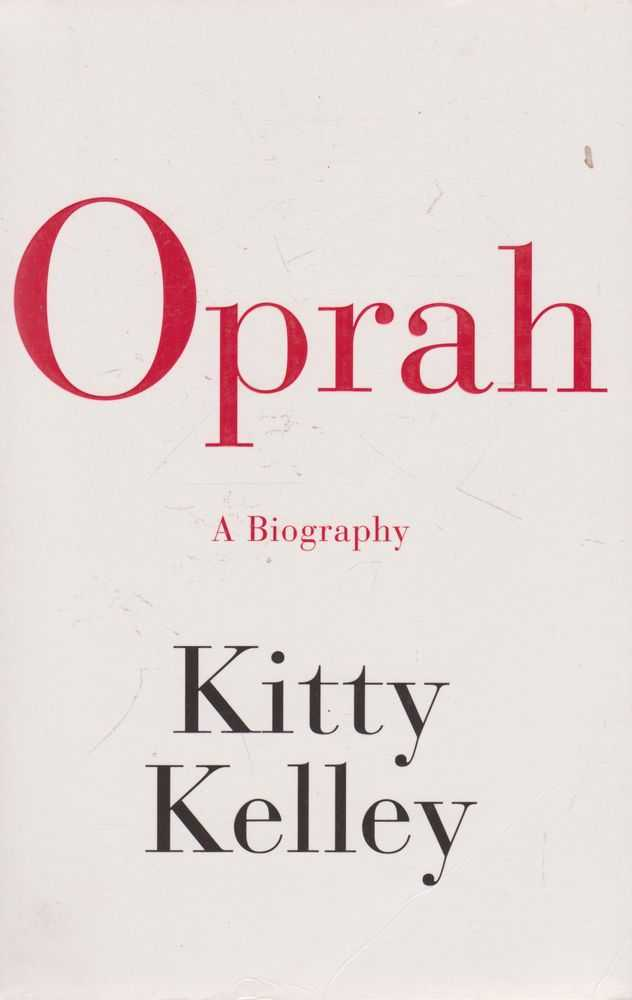 Image for Oprah A Biography