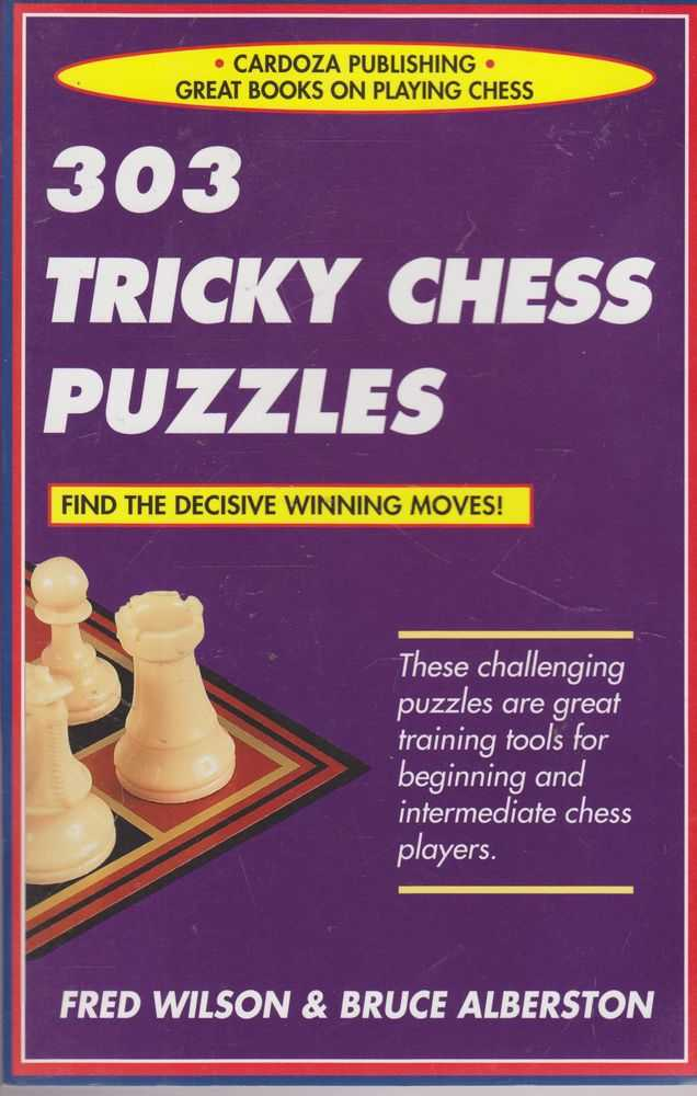 Image for 303 Tricky Chess Puzzles