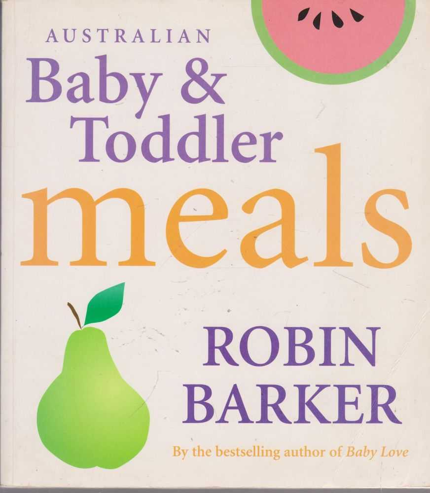 Image for Australian Baby & Toddler Meals