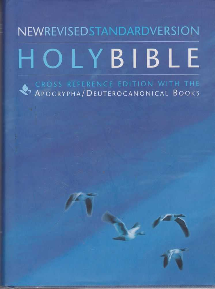 Image for The Holy Bible: New Revised Standard Version [Cross Reference Edition with the Apocrypha/Deuterocanonical Books]