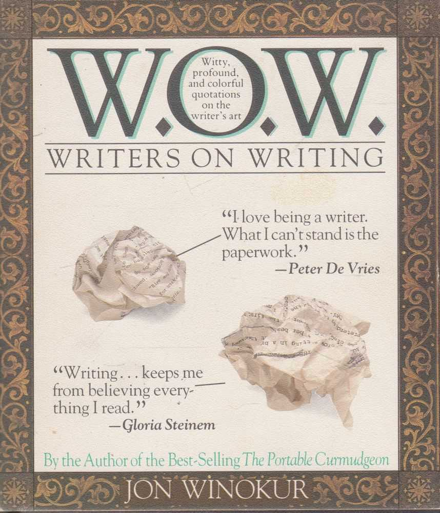 Image for W.O.W. Writers on Writing