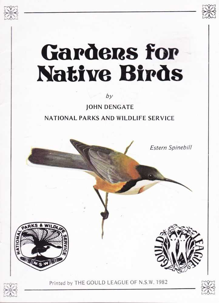 Image for Gardens for Native Birds