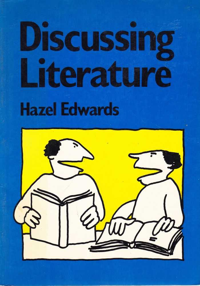 Image for Discussing Literature