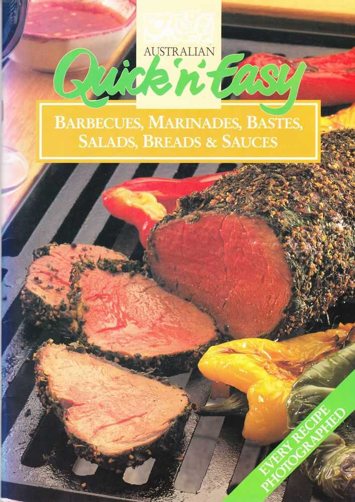 Image for Australian Quick 'n' Easy: Barbecues, Marinades, Bastes, Salads, Breads & Sauces