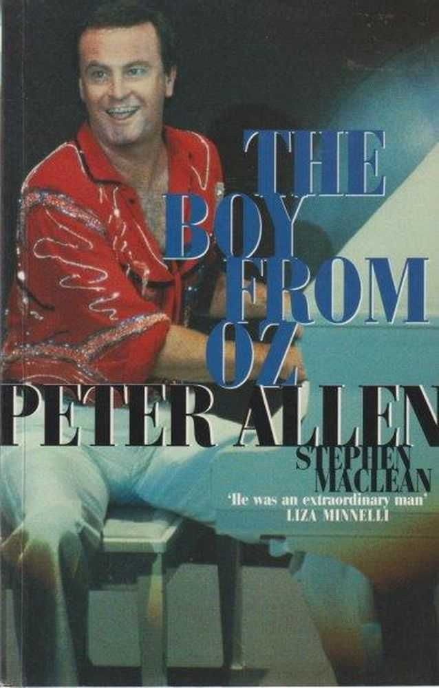 Image for Peter Allen The Boy From Oz