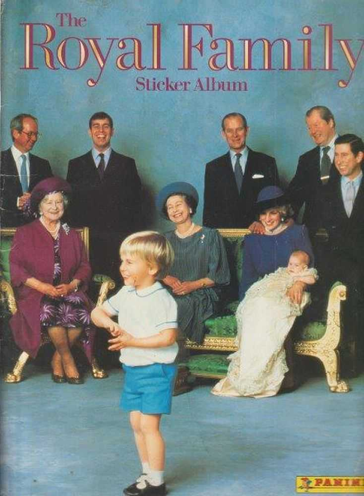 Image for The Royal Family Sticker Album