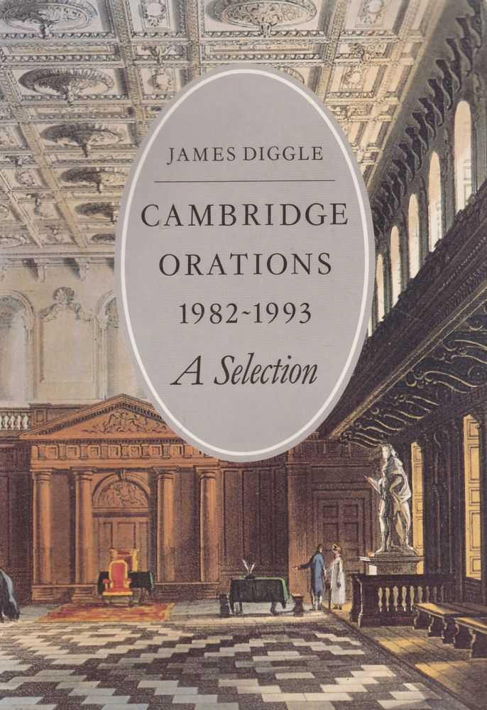 Image for Cambridge Orations 1982-1993 A Selection