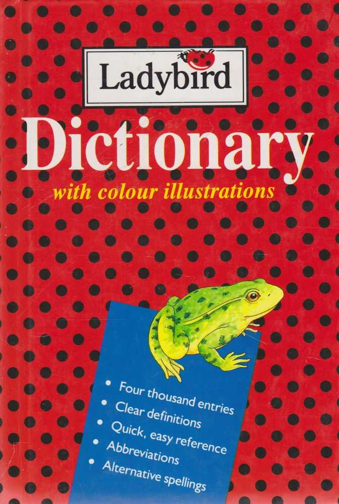 Image for Ladybird Dictionary With Colour Illustrations
