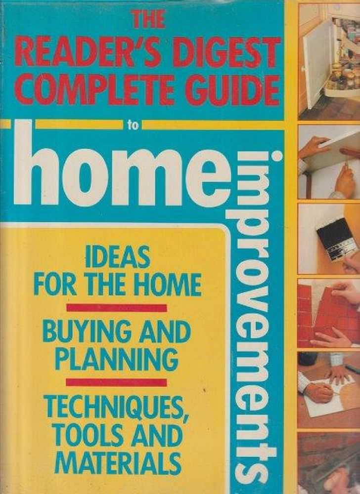 Image for The Reader's Digest Complete Guide To Home Improvements
