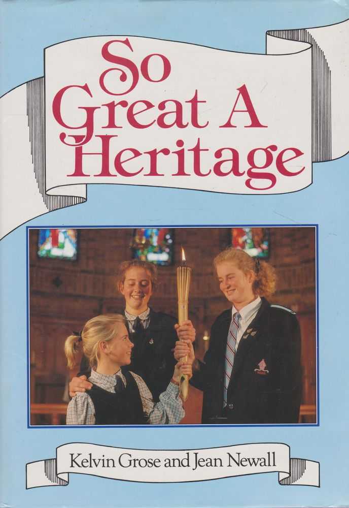 Image for So Great a Heritage