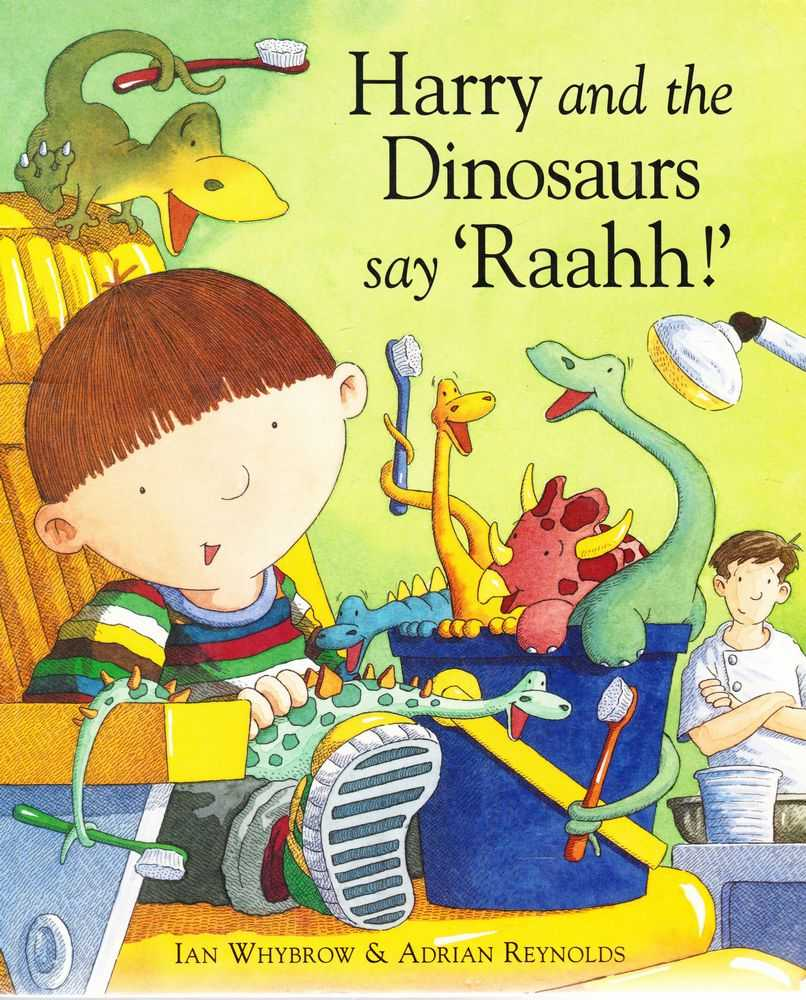 Image for Harry and the Dinosaurs say Raahh!