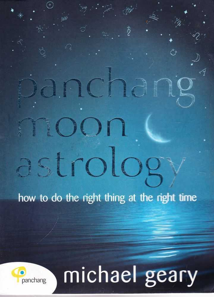 Image for Panchang Moon Astrology: How To Do The Right Thing at the Right Time