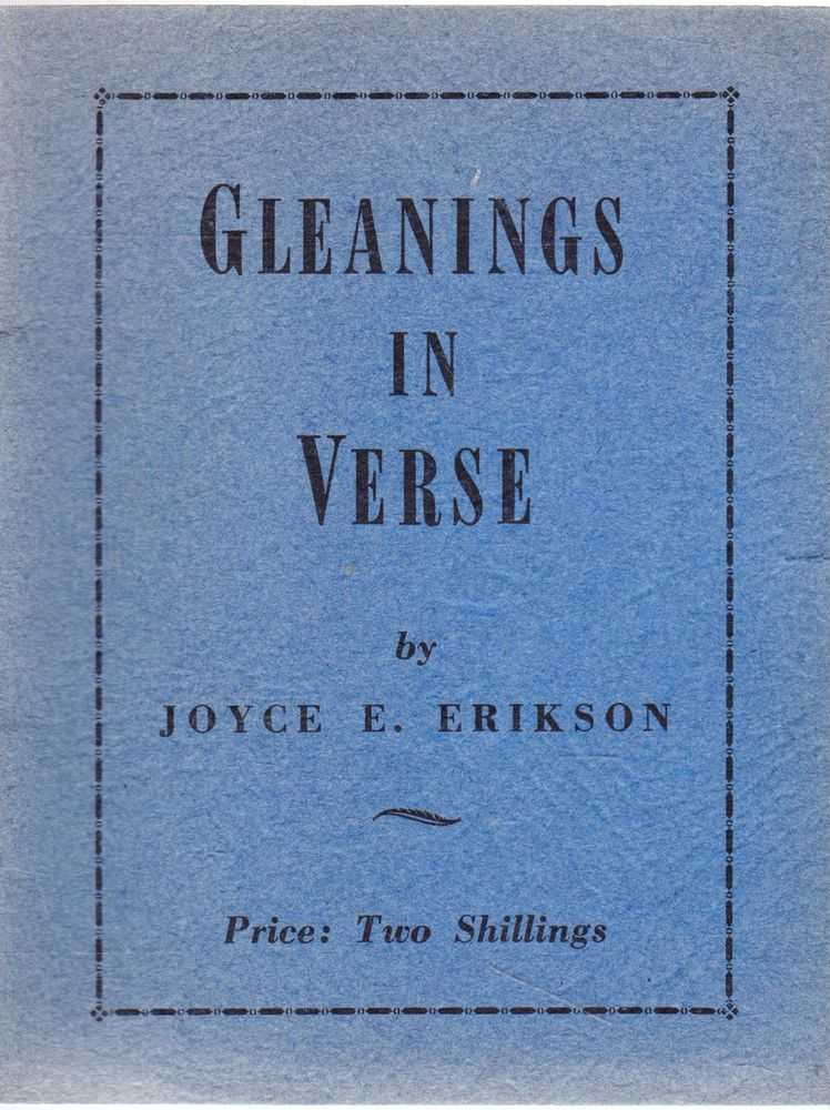 Image for Gleanings in Verse