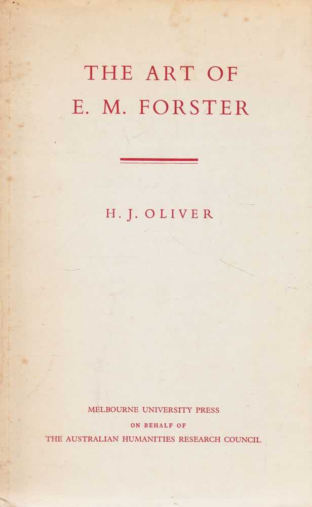 Image for The Art of E.M. Forster