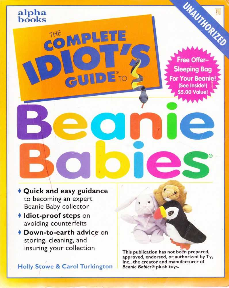 Image for The Complete Idiot's Guide to Beanie Kids