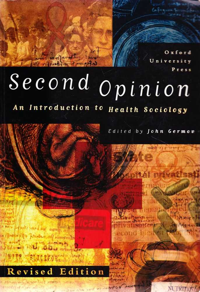 Image for Second Opinion: An Introduction to Health Sociology