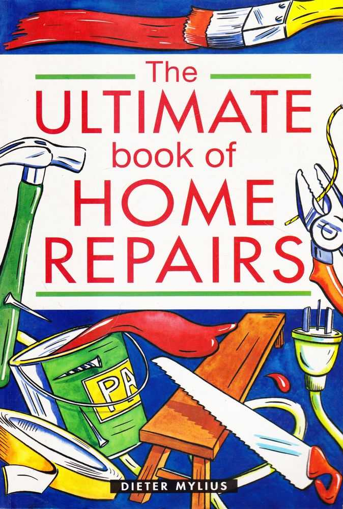 Image for The Ultimate Book of Home repairs