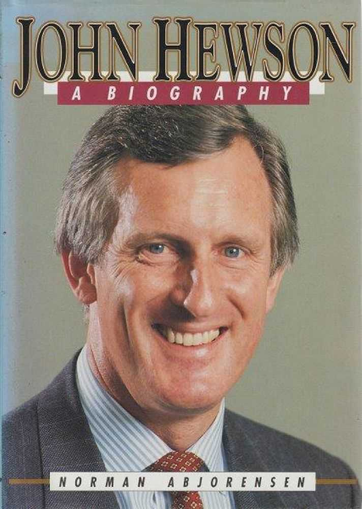 Image for John Hewson - A Biography