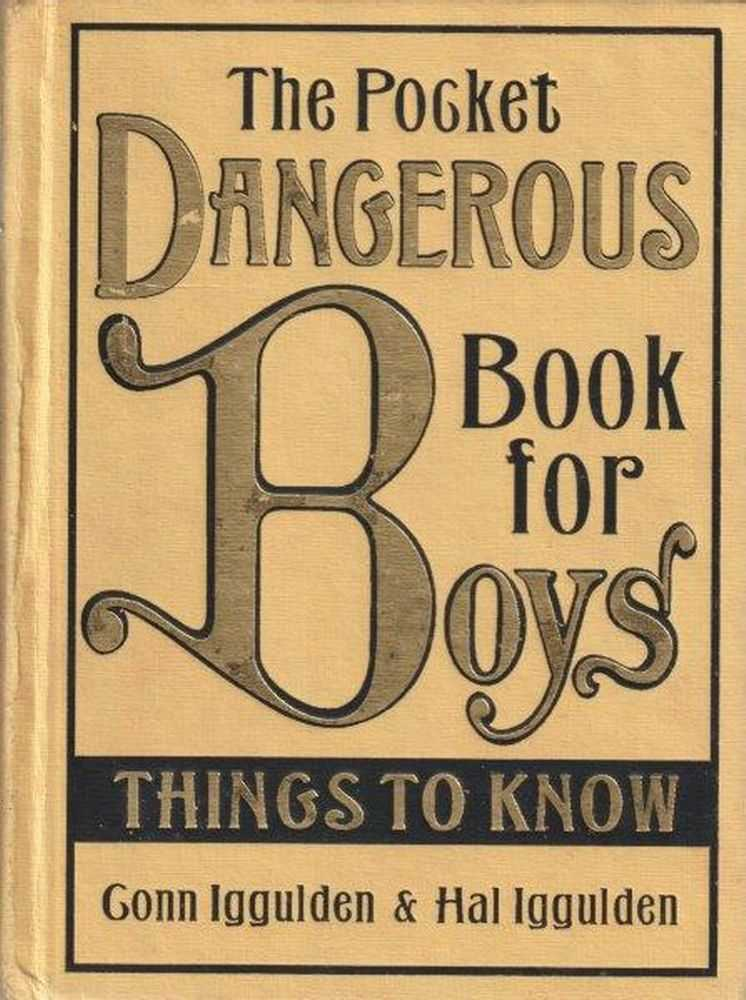 Image for The Pocket Dangerous Book For Boys - Things To Know