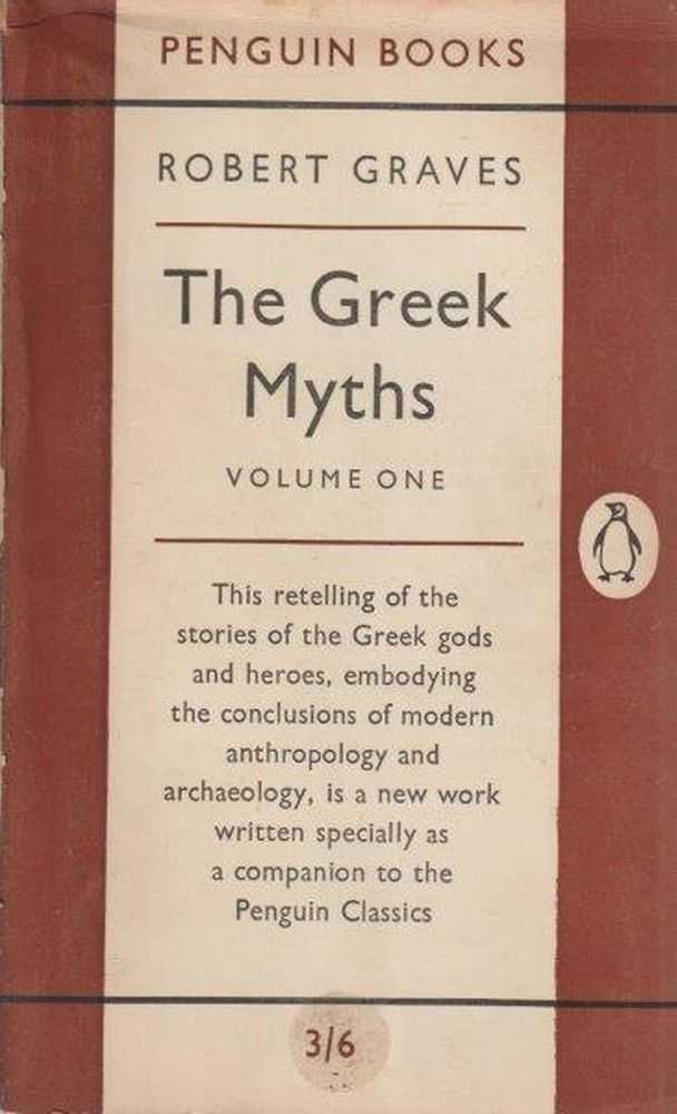 Image for The Greek Myths Volume One