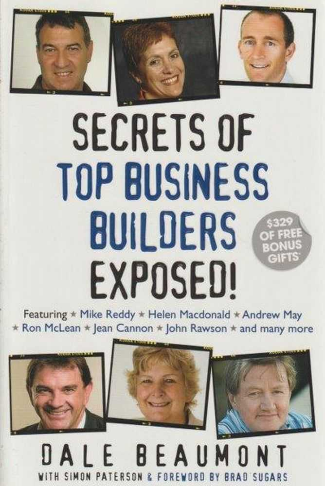Image for Secrets Of Top Business Builders Exposed!
