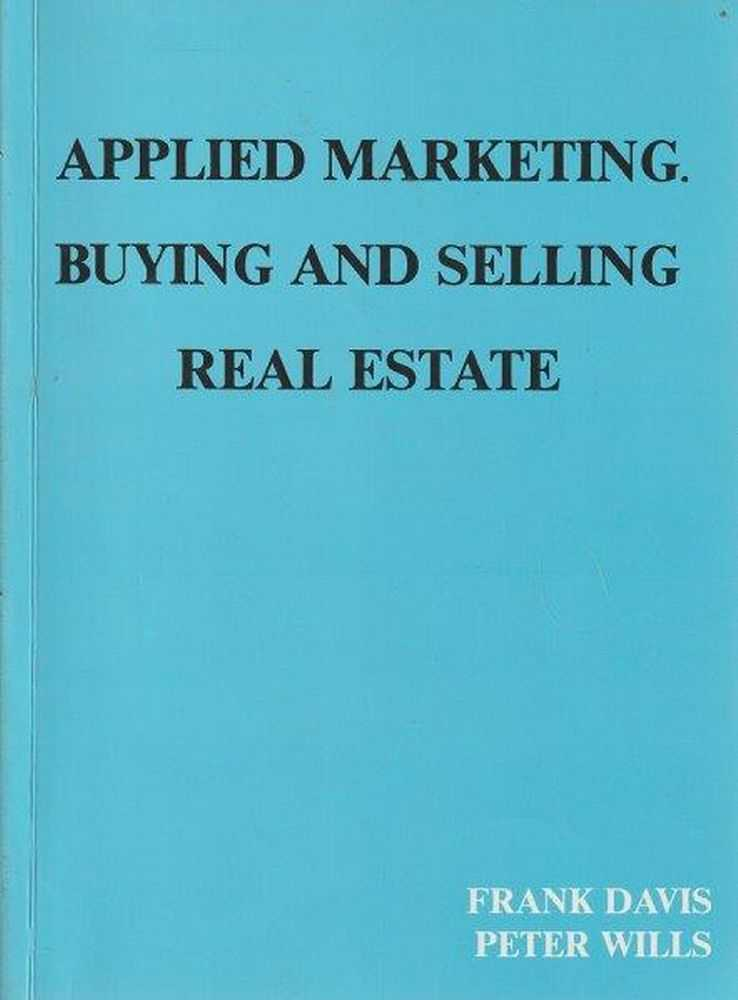 Image for Applied Marketing. Buying And Selling Real Estate