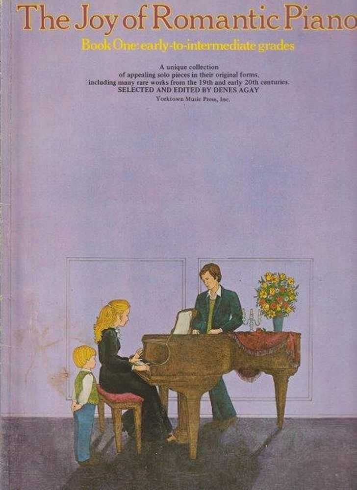 Image for The Joy Of Romantic Piano - Book One Early To Intermediate Grades