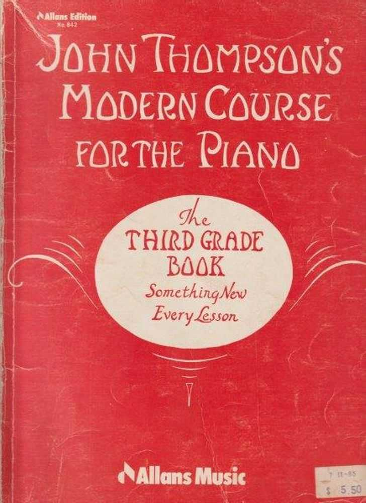 Image for John Thompson's Modern Course For The Piano - The Third Grade Book - Something New Every Lesson