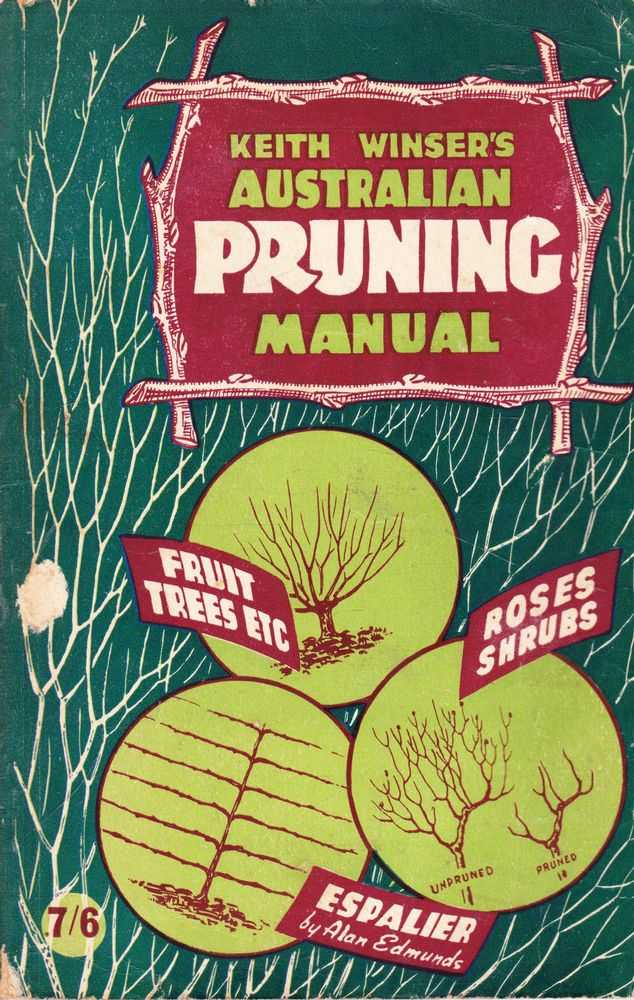 Image for Keith Wisner's Australian Pruning Manual