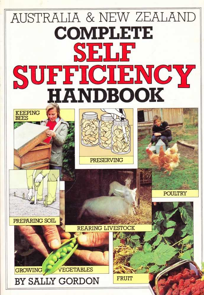 Image for Australia & New Zealand Complete Self Sufficiency Handbook