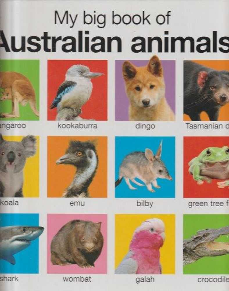 Image for My Big Book Of Australian Animals