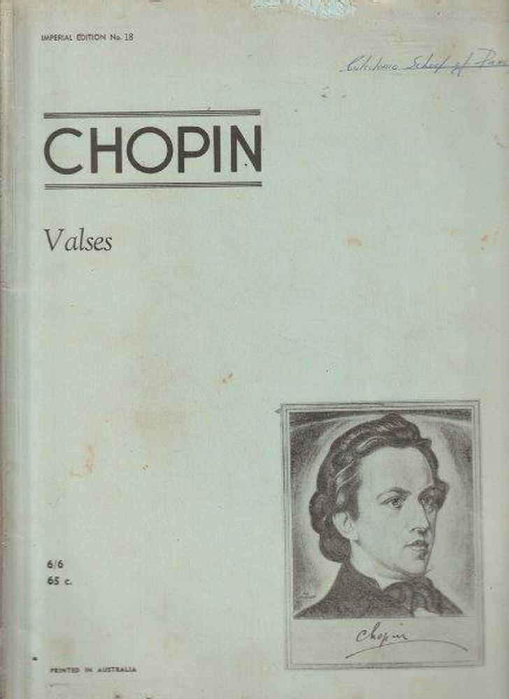 Image for Chopin Valses