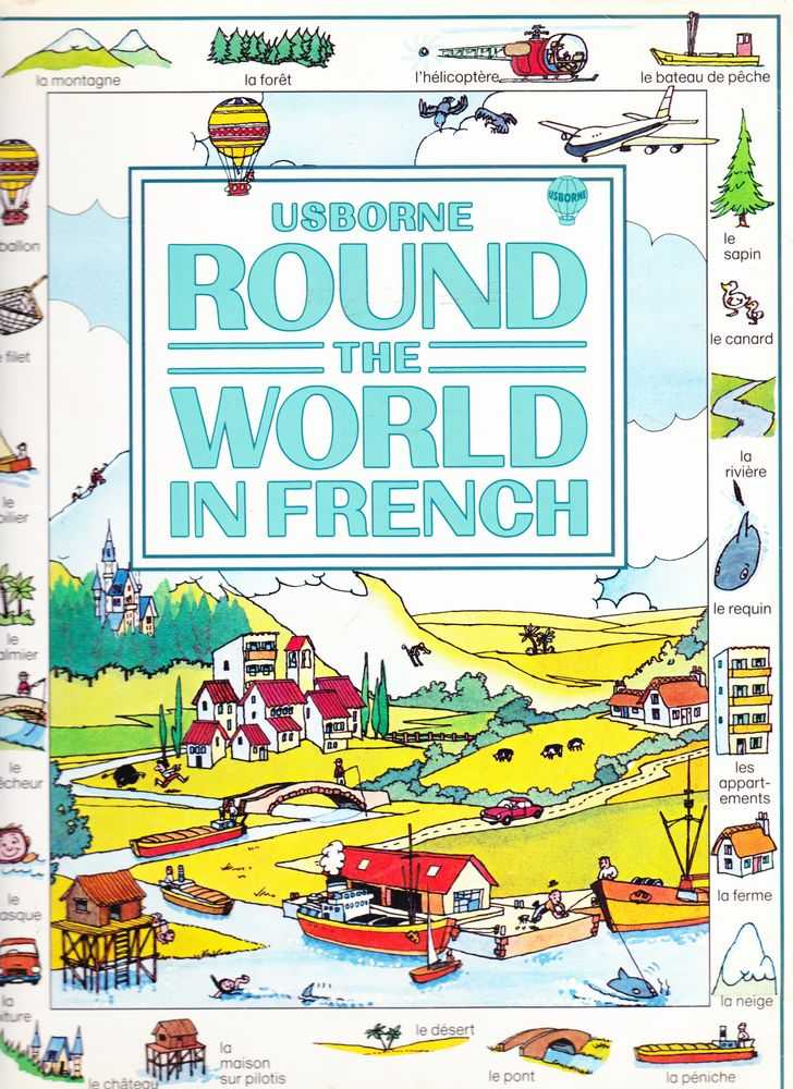 Image for Usborne Round The World In French with Easy Pronunciation Guide