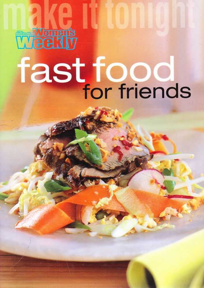 Image for Make It Tonight: Fast Food For Friends