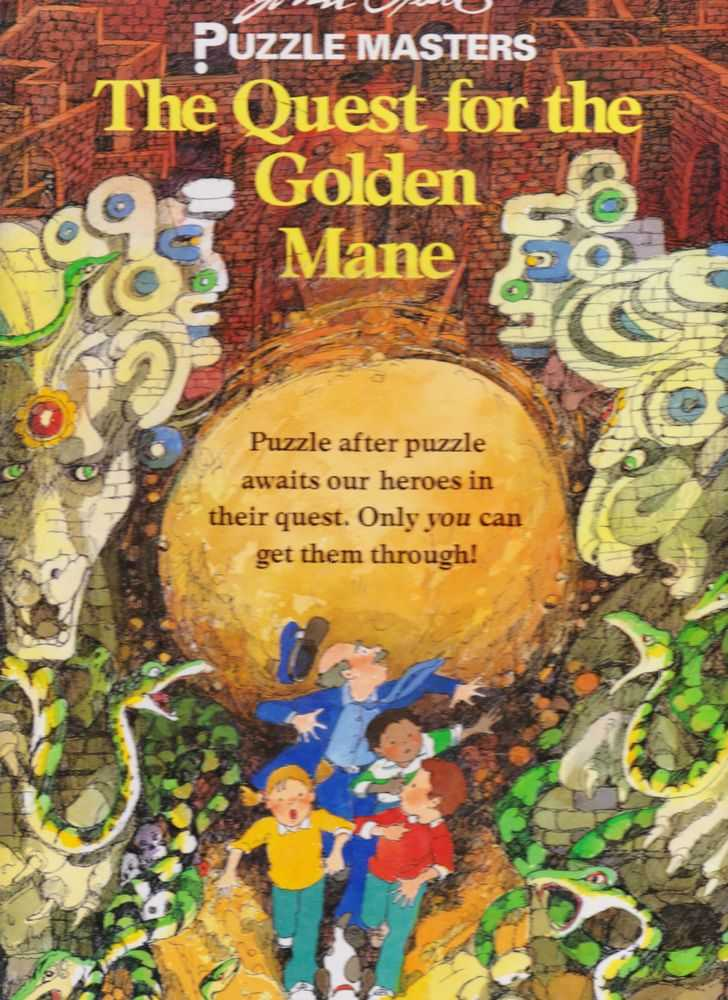 Image for John Speirs Puzzle Masters: The Quest for the Golden Mane