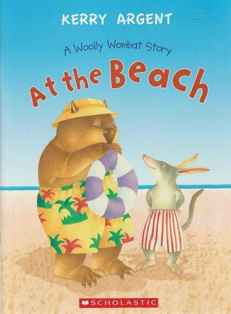 Image for At The Beach A Woolly Wombat Story